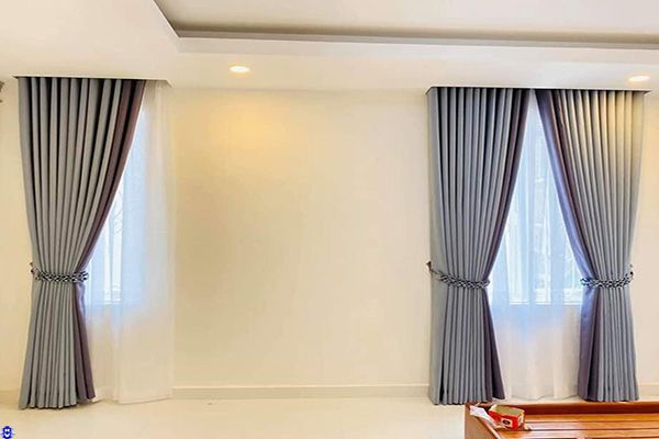 Rèm cửa sổ Hà Nội trực tiếp được Hải Vân may đo thi công hoàn thiện