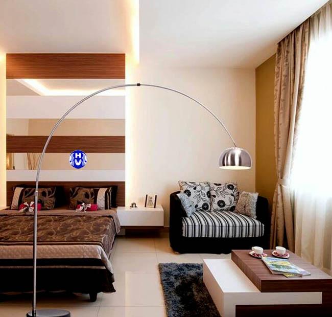 Bộ rèm làm tăng không gian hiện đại căn phòng trở lên đẹp hơn
