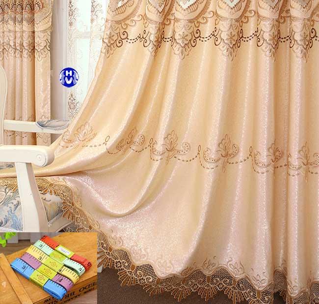 Các bước may đo được tính toán chính xác để tạo lên bộ rèm cửa đẹp