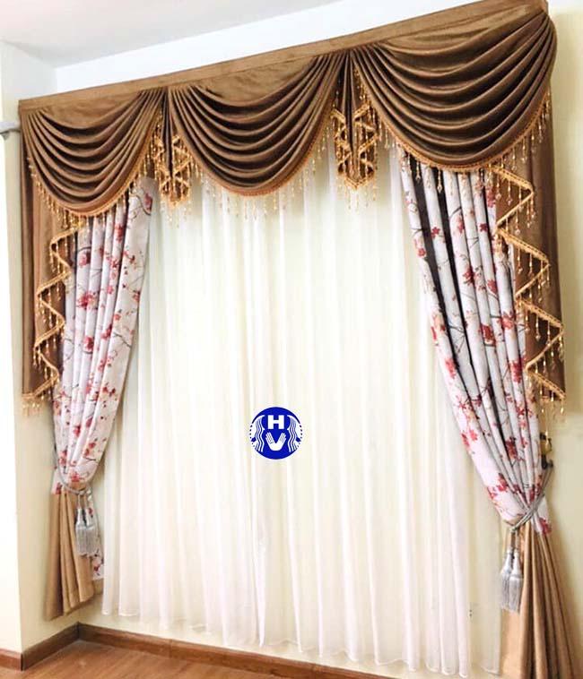 Lựa chọn phối kết hợp màu sắc hài hòa cho rèm cửa chuẩn theo phong thủy