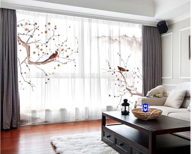Mẫu rèm cửa đẹp nhà liền kề tại Hà Nội