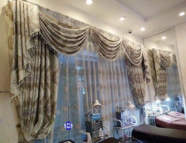 Mẫu rèm giá rẻ dùng trong spa tại Hà Nội