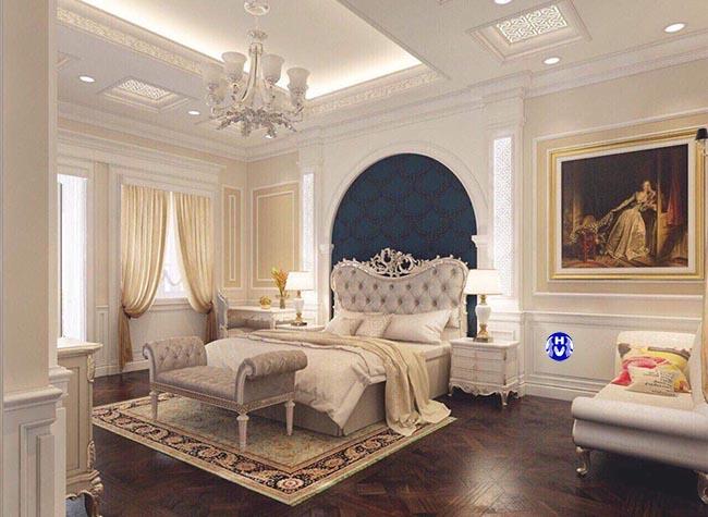 Mẫu thiết kế rèm cửa sổ màu vàng phù hợp phòng ngủ với người mệnh kim