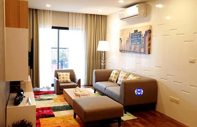 Một lựa chọn tinh tế cho không gian phòng khách với bộ rèm cửa giá rẻ tại Hà Nội