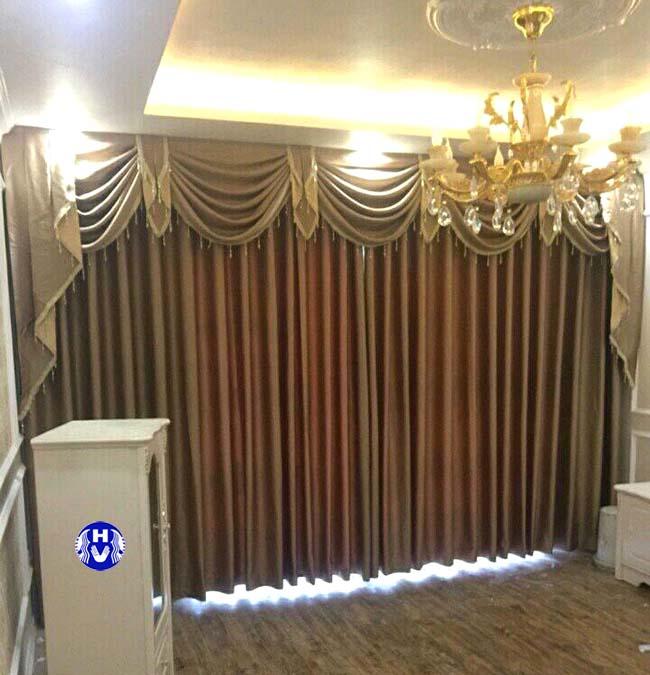 Một mẫu rèm cửa mới nhất theo phong cách tân cổ điển phòng khách