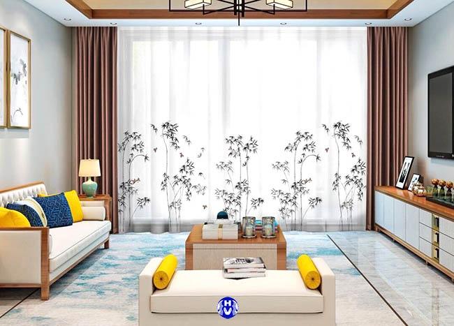 Những bộ rèm phòng khách giúp kiểm soát ánh sáng và làm tăng nét sang trọng cho không gian