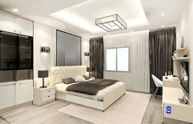 Những mẫu rèm cửa đơn giản phòng ngủ mà lại đẹp hiện đại