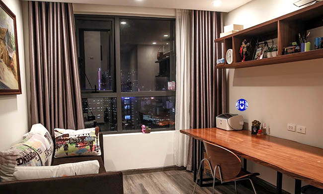 Rèm cửa sổ nhỏ căn hộ chung cư