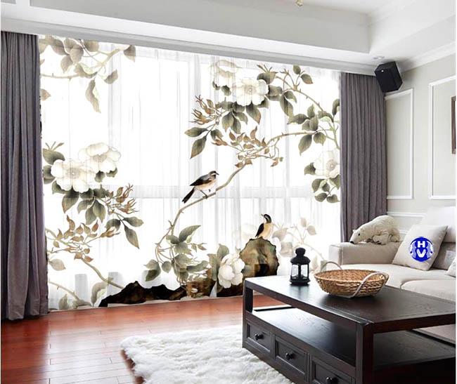 Sự sống động của những mẫu rèm cửa cho phòng khách không còn đơn điệu nhàm chán
