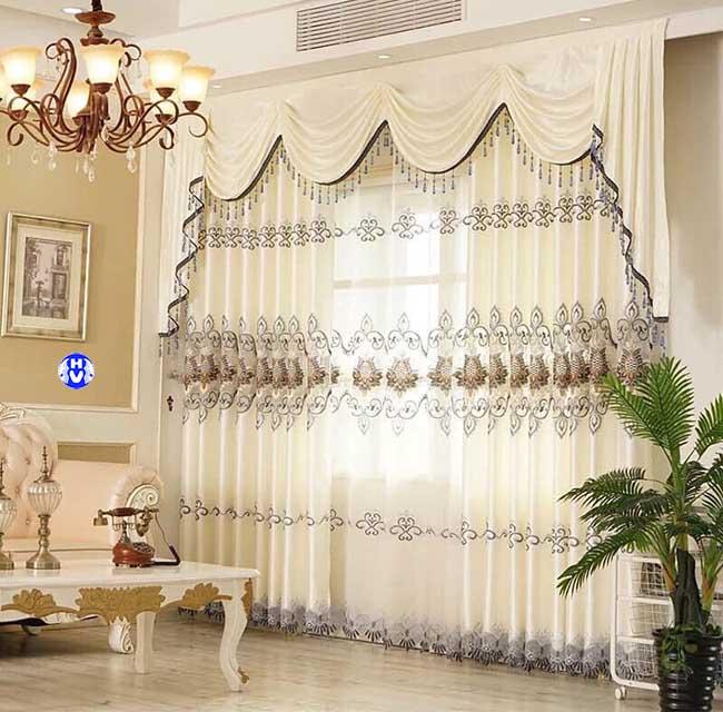 Luôn đảm bảo những mẫu rèm cửa đẹp có không gian thở để phô diễn hết công năng vốn có