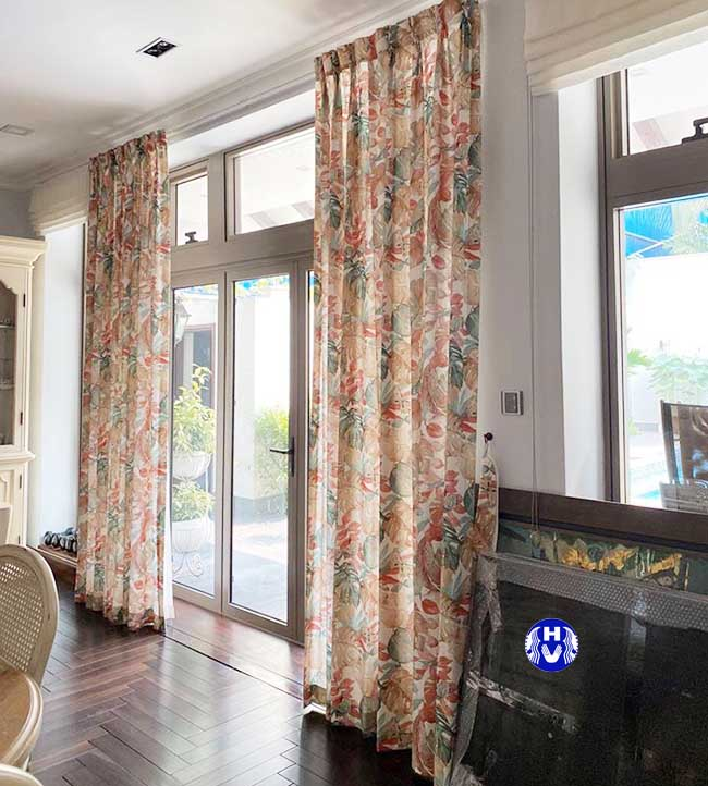 Những Mẫu rèm cửa hoa văn làm tăng vẻ đẹp nhất cho ngôi nhà