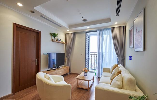 Bộ rèm cao cấp giúp ra tăng chiều rộng cho khung cửa có chiều ngang hạn chế