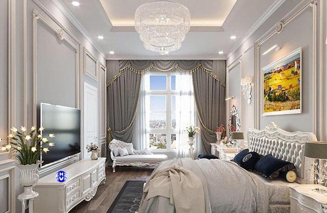 Các căn phòng sang trọng luôn yêu cầu những mẫu rèm cửa sổ đẹp độc đáo