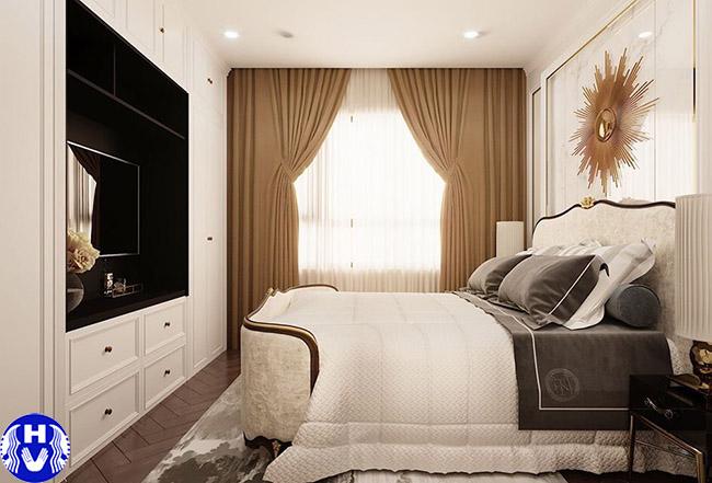 Các loại rèm cửa sổ màu vàng mang lại cảm giác ấm áp đẹp kiêu xa cho căn phòng