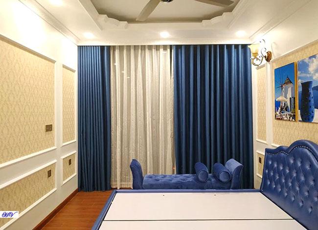 Các mẫu rèm vải ngày nay đều được thiết kế từ nhiều chất liệu khác nhau