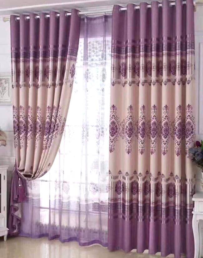 Chất liệu hoa văn trên các mẫu rèm cao cấp chắc chắn thỏa mãn khách hàng tại Hà Nội