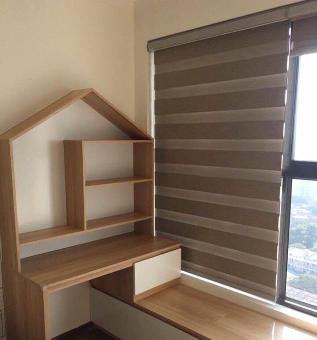 Mẫu rèm cầu vồng che nắng phù hợp với căn hộ chung cư mới