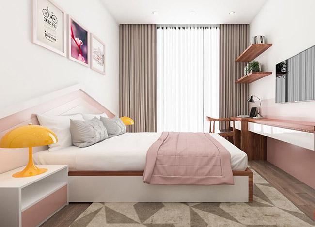 Mẫu rèm cửa sổ đẹp đơn giản cho những căn phòng có diện tích nhỏ tại Hà Nội
