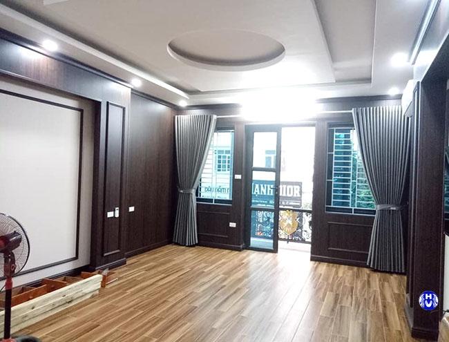 Mẫu rèm cửa thanh lý bên Hải Vân thực hiện cho khách hàng