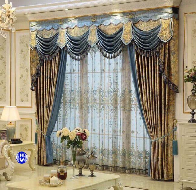 Một sản phẩm rèm cửa đẹp sang trọng thiết kế bởi đội ngũ KTS Hải Vân
