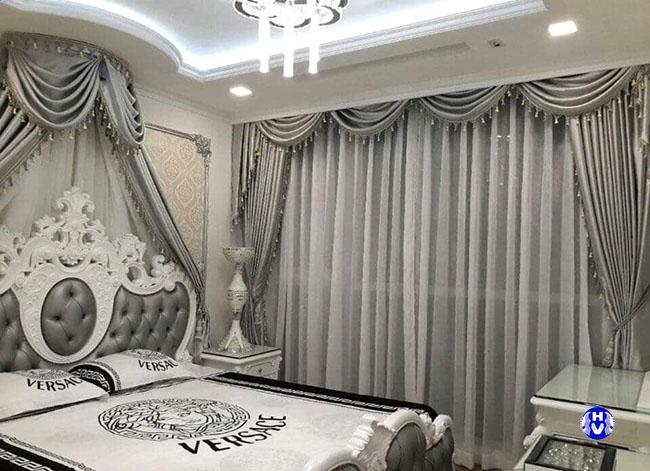 Từng bộ rèm cửa đẹp sang trọng luôn được thiết kế cầu kỳ tỉ mỉ từng chi tiết nhỏ