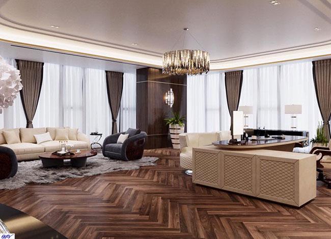 Các căn hộ chung cư không thể thiếu mẫu rèm che nắng