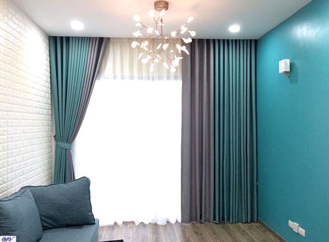 Các căn hộ chung cư không thể thiếu những mẫu rèm cửa chống nắng