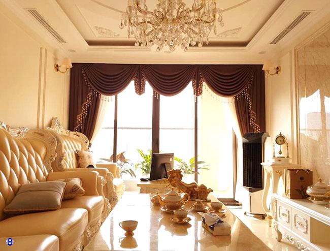Cách bố trí rèm cửa đẹp dành cho nội thất tân cổ điển