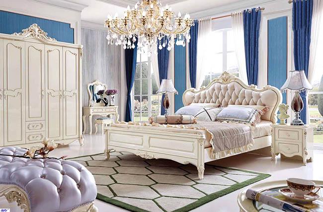Chất liệu giúp làm lên vẻ đẹp cho từng mẫu rèm cửa phòng ngủ cao cấp cuốn hút