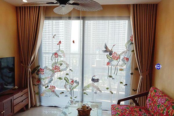 Công trình lắp đặt rèm cửa cao cấp tại Hà Nội bởi Hải Vân