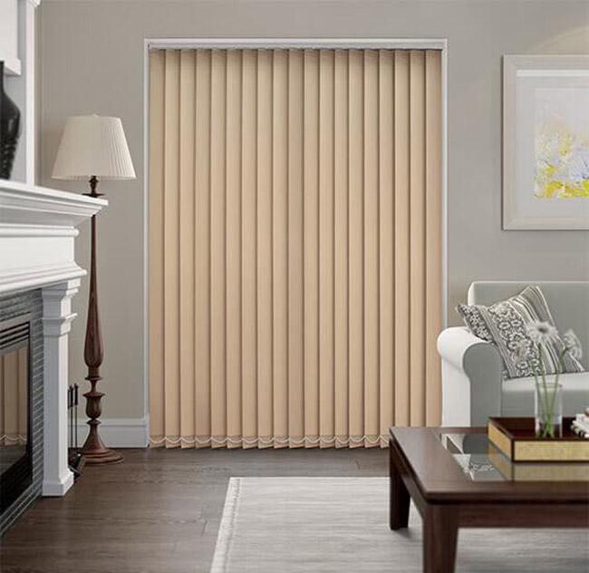 Giá rèm dọc lá phụ thuộc mét vuông của cửa sổ