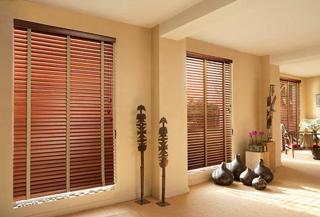 Khả năng bền bỉ chịu nhiệt độ cao rèm gỗ và thân thiện môi trường