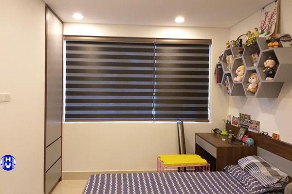 Mẫu rèm cầu vồng phòng ngủ vừa hiện đại vừa dễ sử dụng