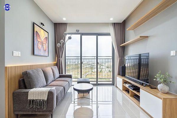 Mẫu rèm cửa đẹp hiện đại nhà chung cư