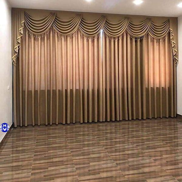 Mẫu rèm cửa phòng ngủ đẹp có diện tích rộng