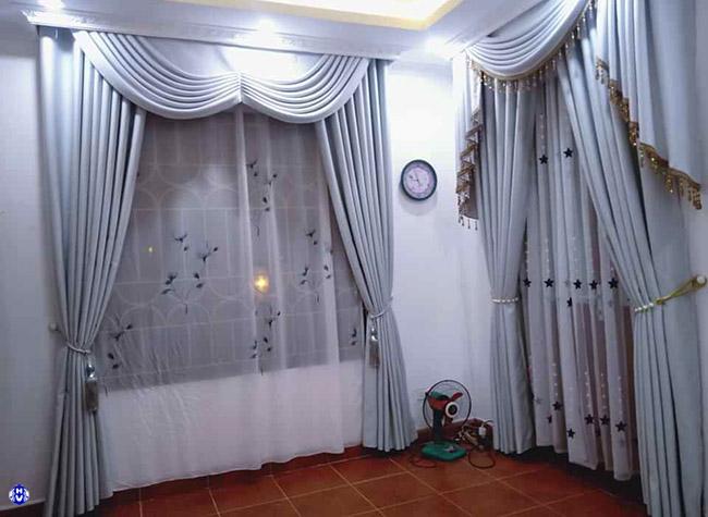 Mẫu rèm cửa sổ chống nắng và cản tia uv tốt cho sức khỏe