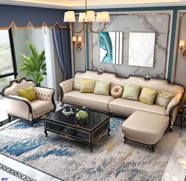 Mẫu rèm cửa thiết kế đẹp màu sắc hài hòa toát lên vẻ đẹp sang trọng phòng khách