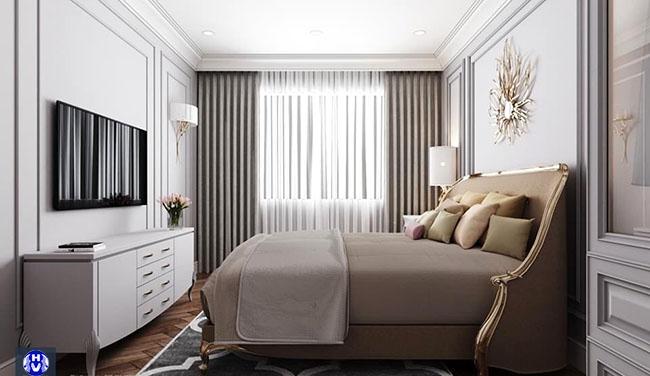 Mẫu rèm mang đến một sự bình yên trong không gian tươi mới căn phòng