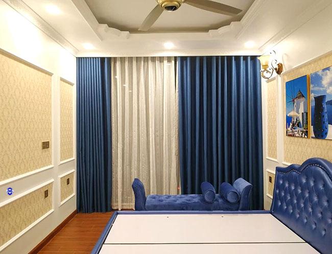 Màu sắc nội thất ảnh hưởng đến quyết định lựa chọn mẫu rèm phòng ngủ