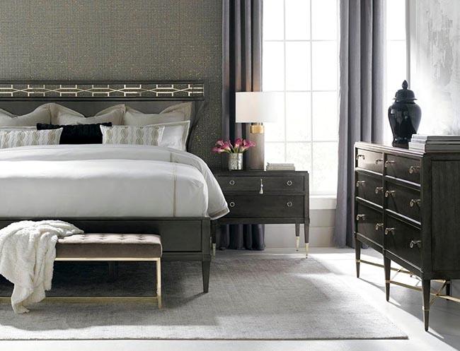 Một sự kết hợp nội thất và mẫu rèm cửa dựa trên phối màu liền kề