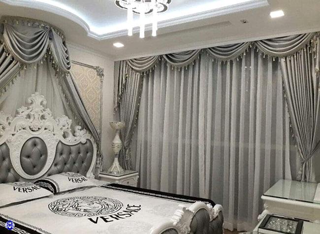 Những mẫu rèm 2 lớp được nhiều lựa chọn cho căn phòng ngủ đẹp sang trọng