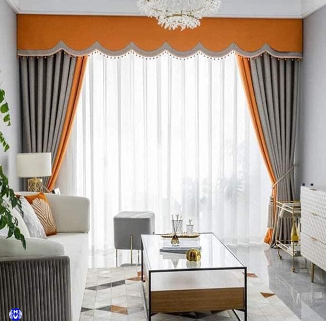 Phòng khách đẹp hơn khi được trang trí bởi mẫu rèm cửa chống nắng