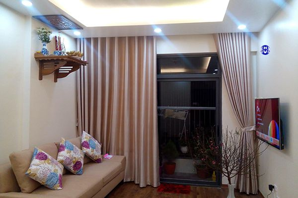 Rèm căn hộ chung cư thiết kế chuẩn phong thủy theo gia chủ