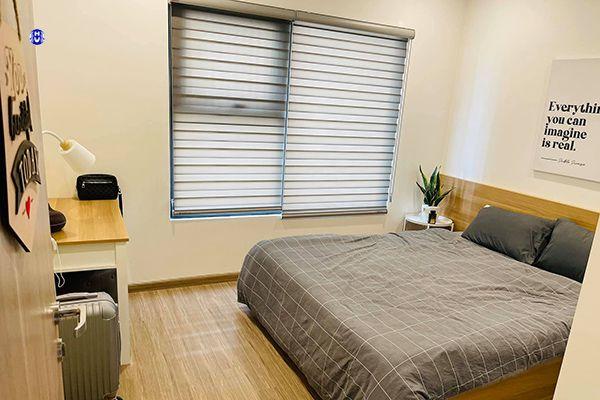 Rèm cửa cuốn hàn quốc hiện đại lắp cửa sổ nhỏ phòng ngủ
