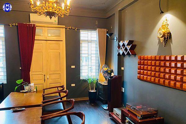 Rèm cửa đẹp hiện đại dành cho nhà hàng sang trọng lịch sự