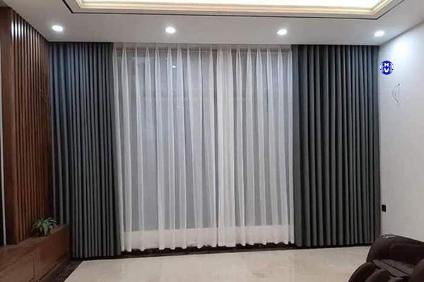 Rèm cửa vải chống nắng 2 lớp bảo vệ gia đình