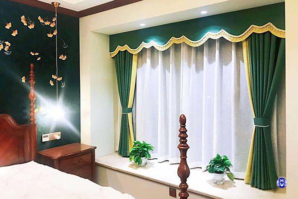 Rèm vải cho khung cửa sổ ngắn