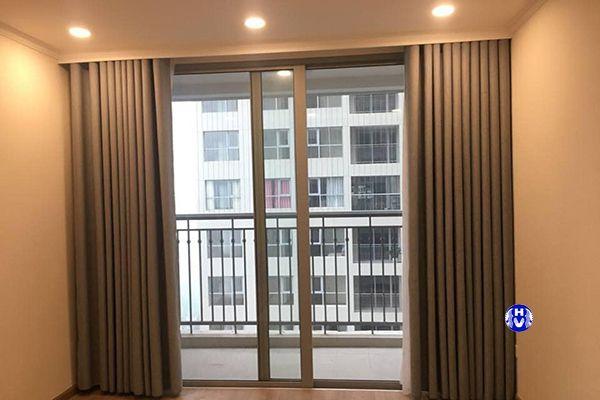 Rèm vải cửa sổ 1 lớp chống nắng giá rẻ chung cư