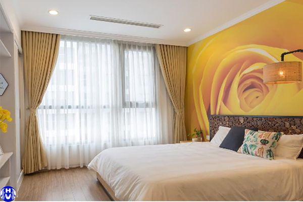 mẫu rèm phòng ngủ đẹp 2 lớp chống nắng sang trọng