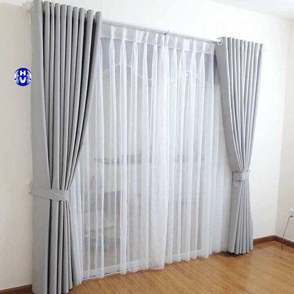 Cây treo rèm cửa bằng nhựa chịu lực cao cấp